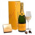 Champagne de Veuve Clicquot en cadeau