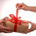 Livraison d'un cadeau